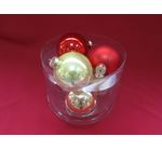 Set of Christmas balls 6 pcs. large