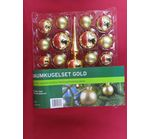 Set of Christmas balls 19 parts