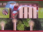 set 10 pcs Christmas candles with remote